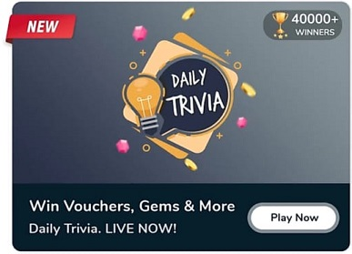 Flipkart Daily Trivia Quiz Answer 13 September